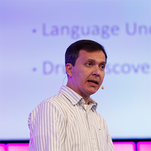 Photo of Ruslan Salakhutdinov, Machine Learning, CMU