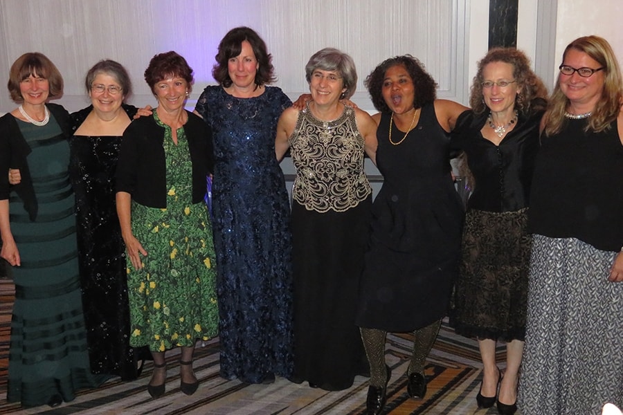 2016 ACM women fellows at recognition ceremony